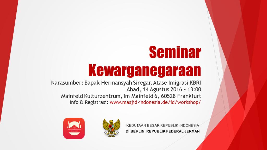 Seminar Kewarganegaraan