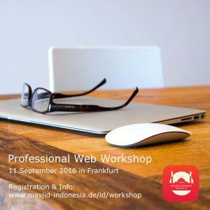 Professional Web Workshop